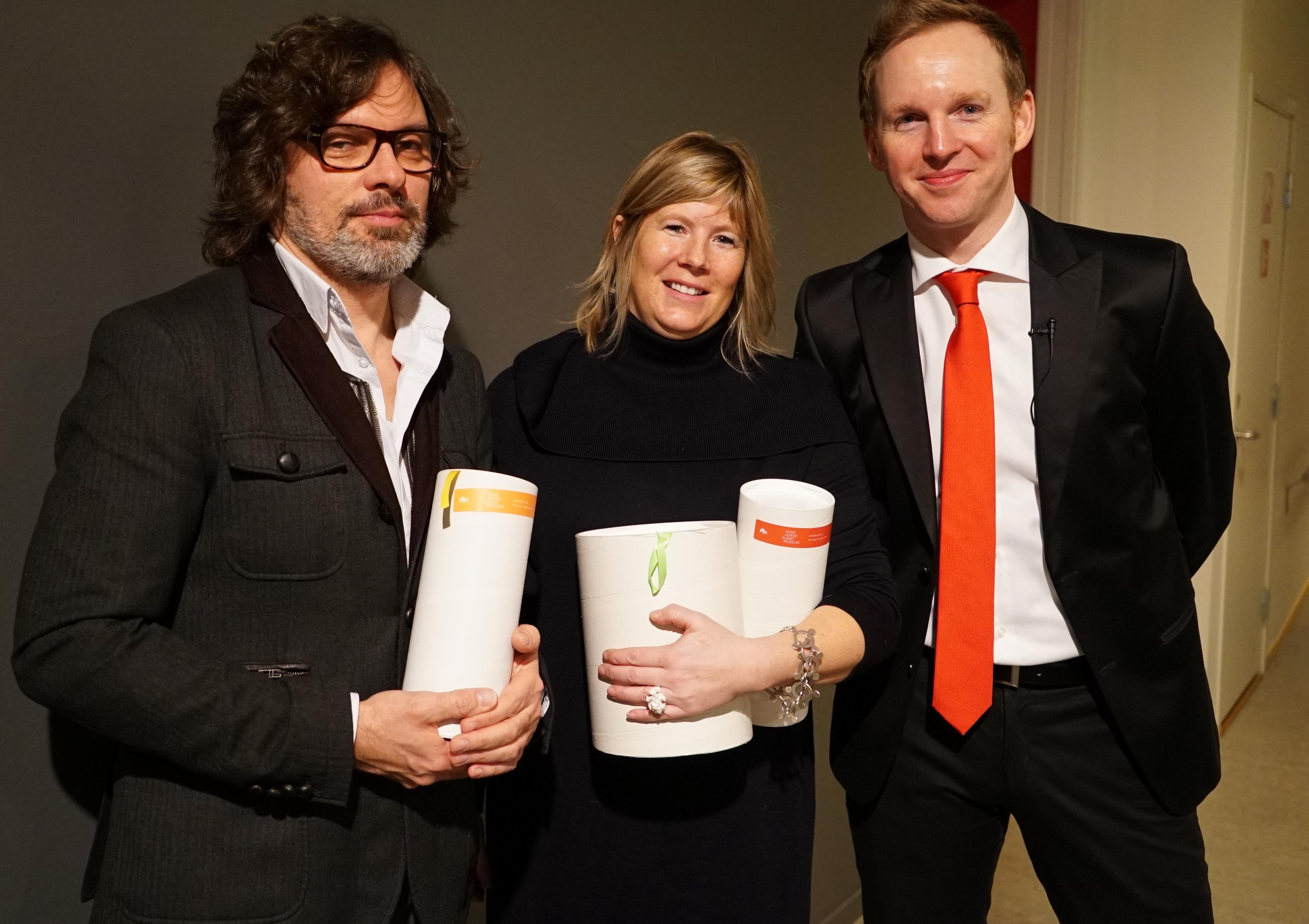 Marek Ranis, Julie Decker og Jérémie McGowan