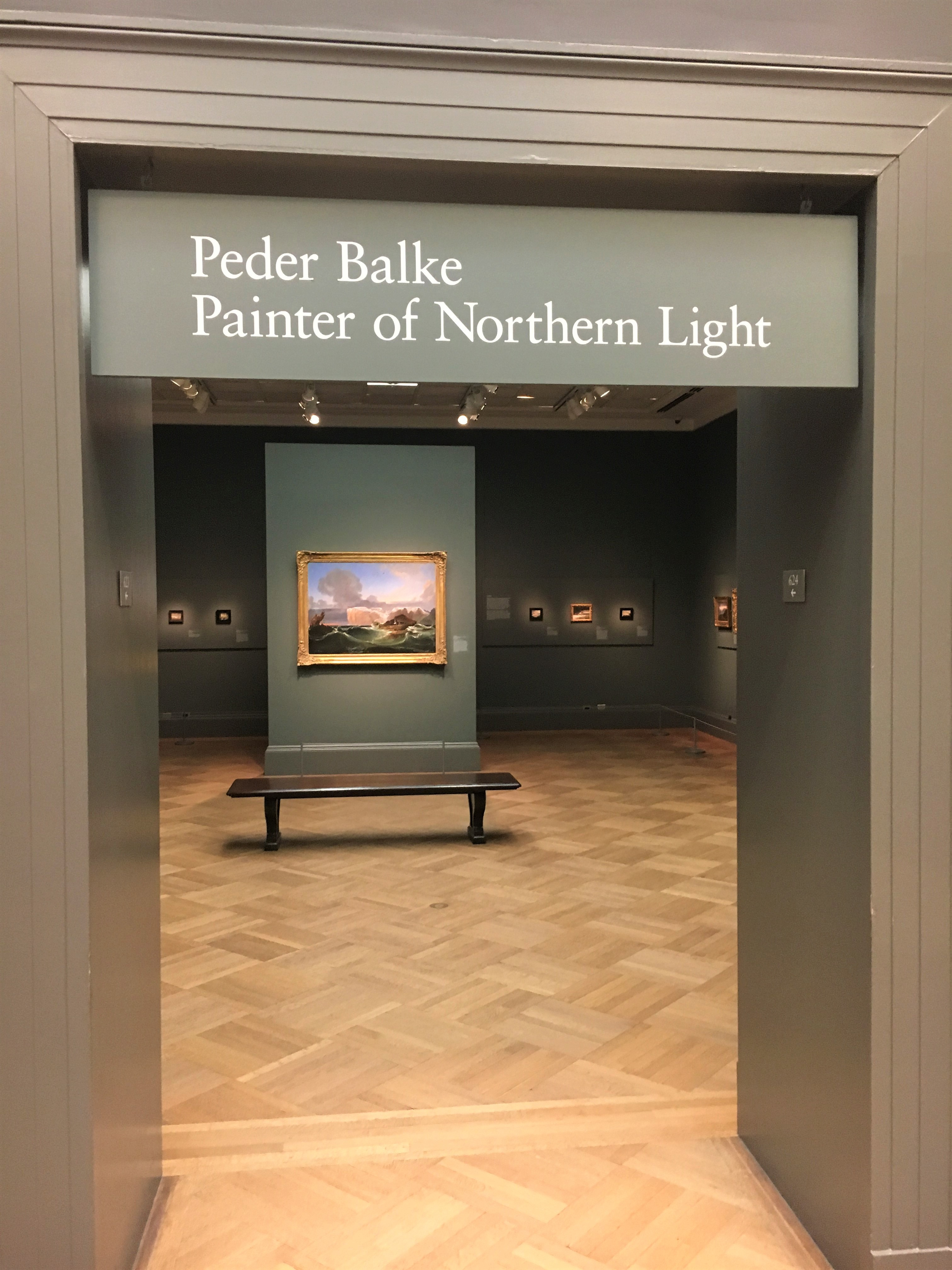 Peder Balke Painter of the Northern Light at The Met, NY