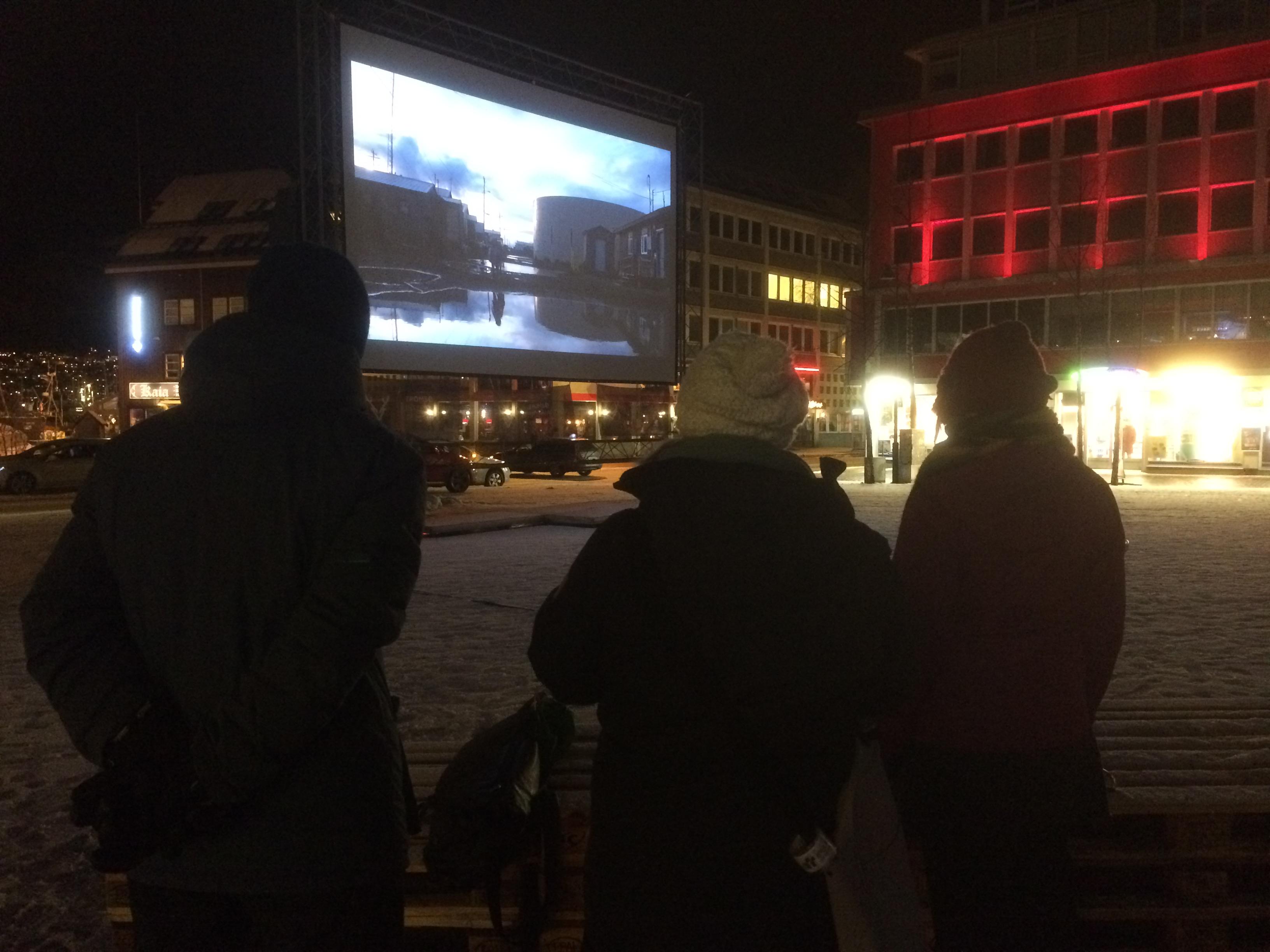 «Kivalina» på TIFFs utescene outdoor cinema