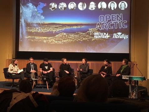 Jérémie McGowan på Arctic Frontiers