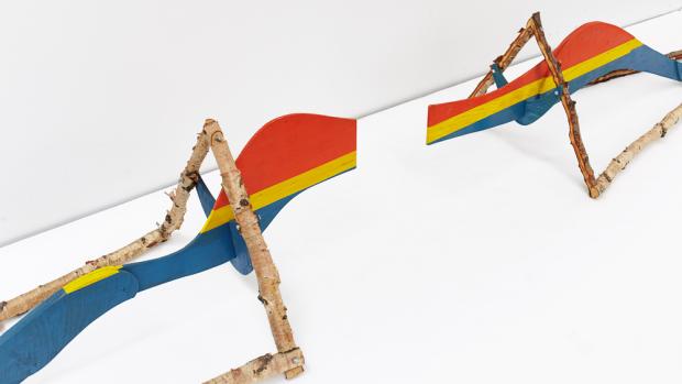 Aage Gaups SkulpturI og II. Foto: OCA/Magne Risnes