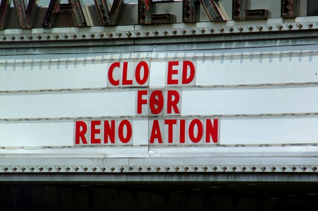 Closed for renovation by Ben Hershey on Usplash