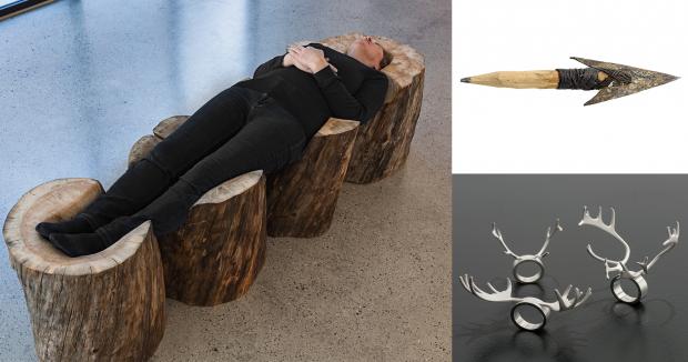 Icraft utstilling av Nordnorsk Kunstmuseum på turne til Arkhangelsk