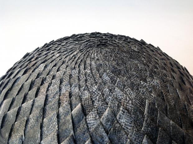 «Hemisfære II» av Solveig Ovanger