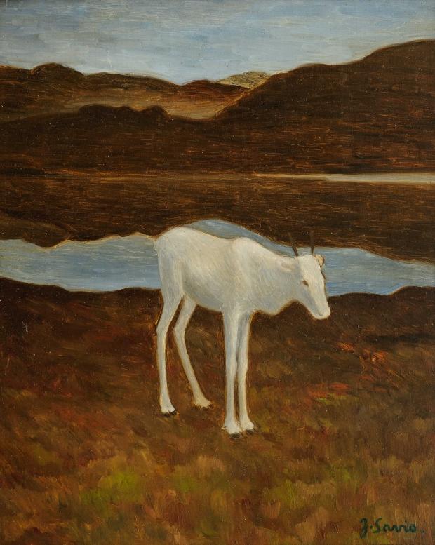 Reinkalv (1928) av John Savio
