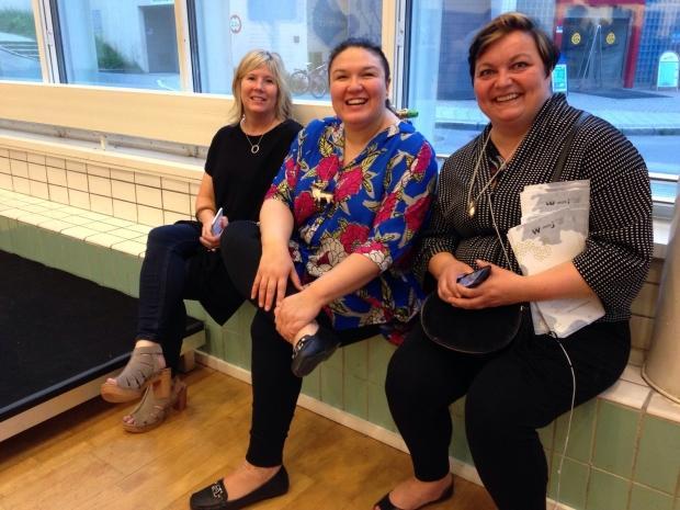 Julie Decker, Allison Akootchook Warden og Bodil Kjelstrup