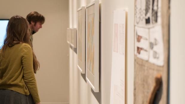 The Artist room, presenting the art of Britta Marakatt-Labba