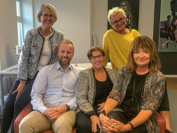Styret i Nordnorsk Kunstmuseums venneforening 2019