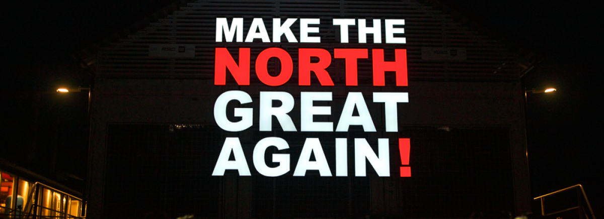 Make The North Great Again - Foto Dan Celius