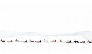 Detalj fra «Historia» av Britta Marakatt-Labba. Foto: Ola Röe.