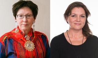Rose-Marie Huuva og Irene Snarby (Foto Torje Jenssen)