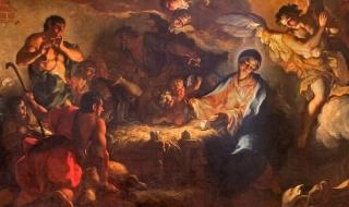 The Adoration of the sheperds av Antonio Vassilacchi