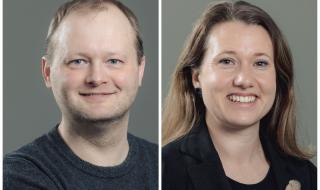 Kims Skytte og Charis Gullickson. Foto: Marius Fiskum.