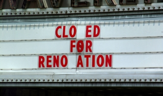 Closed for renovation by Ben Hershey on Usplash