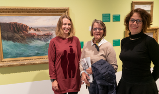 Charis Gullickson, Aina Nordby og Ingrid Skovgaard