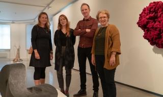Charis Gullickson (NNKM), Lise Stang Lund (NK), Jérémie McGowan (NNKM) og Marit Lønning Reiten (NK)